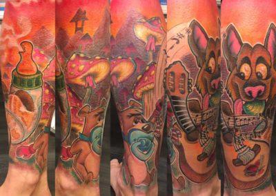 tatuaje dibujos animados | tatuajes madrid