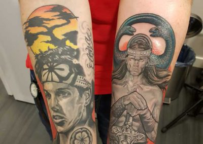 tatuaje katatekid conan antebrazo | Cornelius tattoo madrid