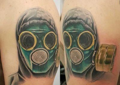 Parapa tattoo: tatuaje mascara | tatuajes madrid