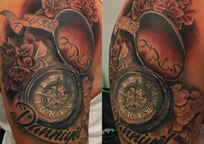 tatuaje tiempo | tatuajes realistas | tatuaje madrid