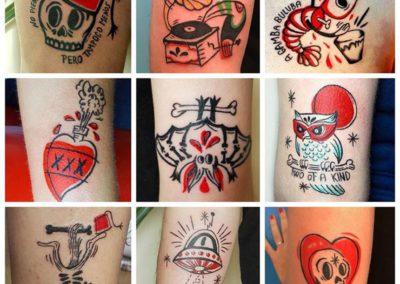 tatuajes divertidos | carmela maracas | tattoo