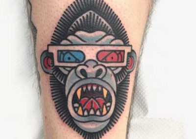 tatuaje-orangutan