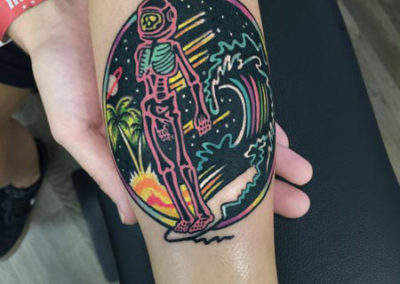 tatuaje surf | tatuajes con significado | estudio de tatuajes madrid