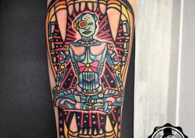 tatuajes new school