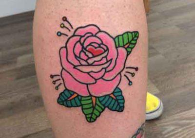 rosas tatuajes | tatuajes flores | tatuajes a color | tatuajes en madrid