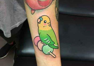 tatuajes pajaros | tatuajes animales | estudio de tatuajes madrid