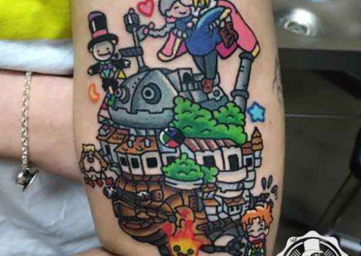 tatuajes anime | tatuajes originales | tatuajes madrid