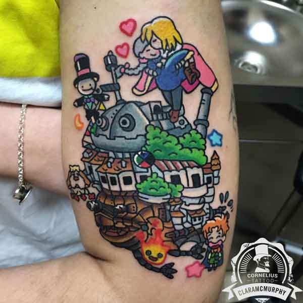 Tatuajes Anime clara mc murphy   tatuajes animados   tatuajes divertidos