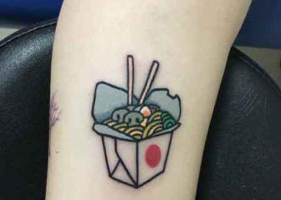 tatuaje noodles | tatuajes japoneses | tatuajes pequeños | tattoo