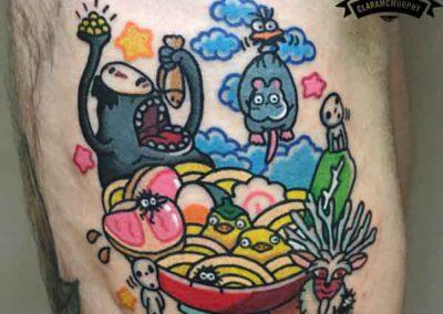 tatuaje-viaje-chihiro-anime