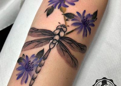 tatuaje-acuarela-libelula