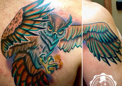 Tatuajes cover | tatuajes new school | tatuajes pajaros
