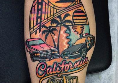 tatuajes new school | California | tattoo madrid