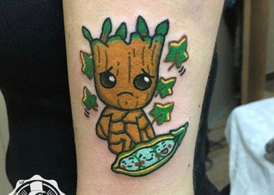 Groot | tatuajes anime | tatuajes madrid