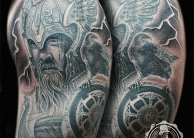 Parapa tattoo: tatuajes realistas | mejores tatuadores madrid