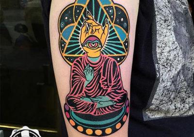 tatuaje-color-buda