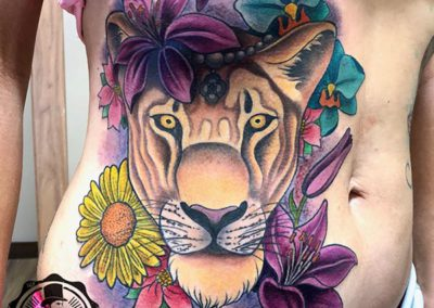 tatuajes animales | tatuaje tigre | tatuajes new school