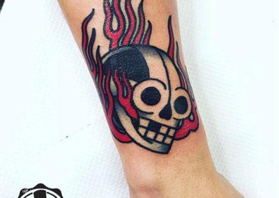 tattoo-antebrazo-calavera