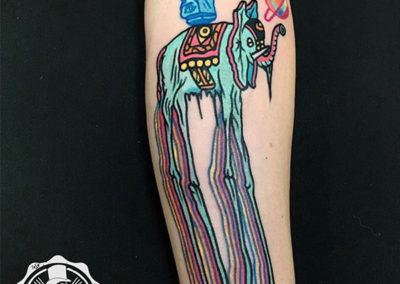 tatuaje-brazo-elefante