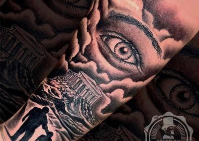 tatuajes realistas madrid | tatuajes en el antebrazo | cornelius tattoo