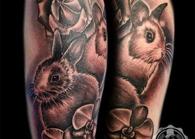 tatuajes realistas madrid | tatuajes animales | estudio de tatuajes