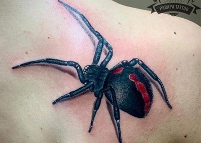 tatuaje-realista-araña
