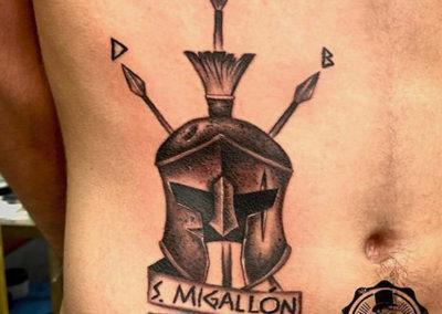 tatuajes realistas madrid | tatuajes para hombres | estudio de tatuajes
