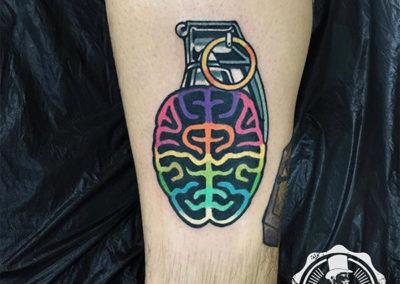 tatuajes a color: tattoo granada