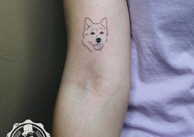 tatuajes pequeños: tatuajes perros