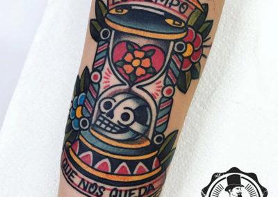 tatuajes originales | tatuajes calavera a color