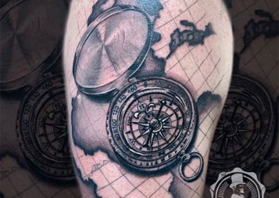 tatuajes realistas | Cornelius tattoo, estudio de tatuajes madrid