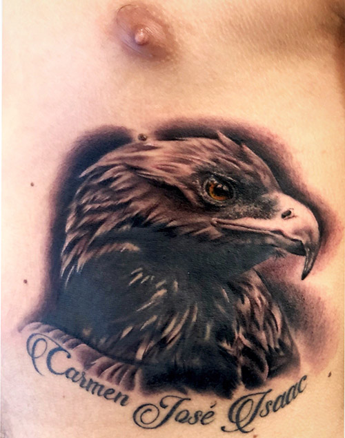 tatuajes cover: tatuaje águila