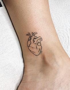 tatuajes pequeños | tatuajes en el tobillo