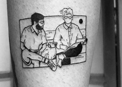 tatuajes de fotos | blackwork