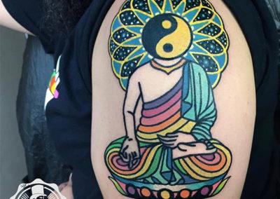 tatuajes a color | tatuaje budista | tattoo madrid
