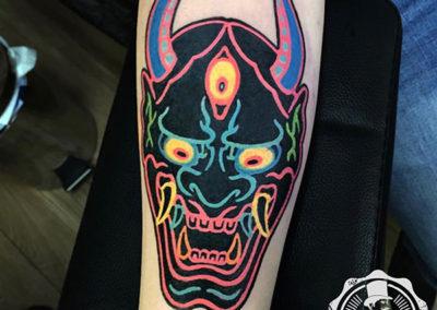 tatuajes a color: el bueno | estudio tatuajes madrid |