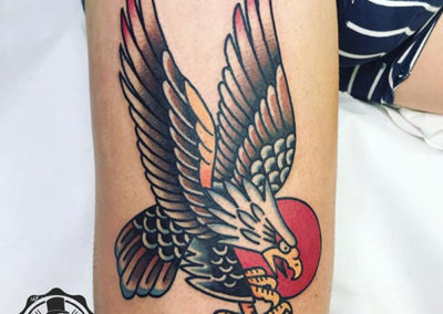 tatuajes old school | tatuajes animales: águila
