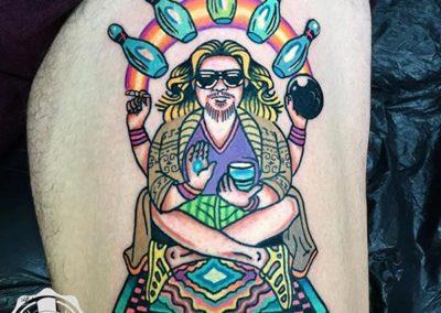 tatuajes a color Cornelius tattoo