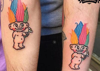 tatuaje para parejas estudio tatuajes Madrid