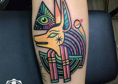tatuajes a color esfinge tattoo madrid