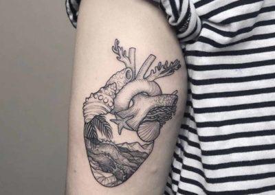 tatuajes con significado de un corazón