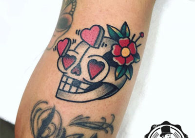 tatuaje pequeño a color tattoo Madrid