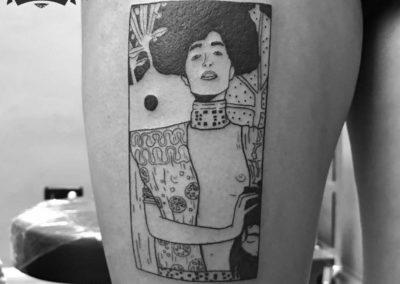 Tatuajes originales | cuadro de Klimt