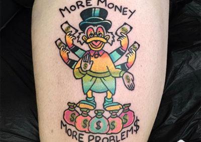 tatuaje tío gilito | tatuajes a color
