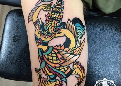 tatuajes a color | estudio tatuajes madrid