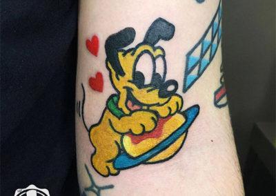 tatuajes pequeños | cartoon tattoo
