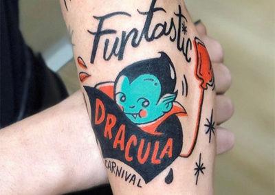 tattoo drácula | tatuajes en madrid