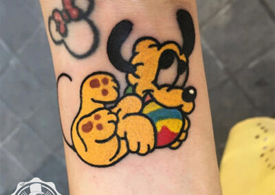 cartoon tattoo | tatuajes divertidos