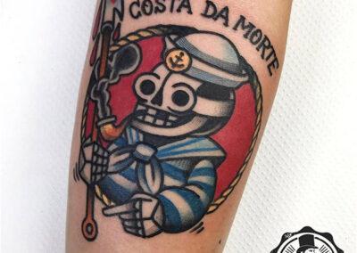 tatuajes brazo hombre | tatuajes old school