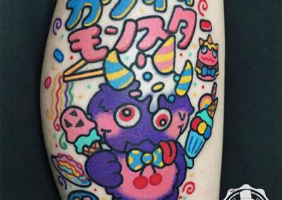 tatuajes anime | estudio de tatuajes madrid